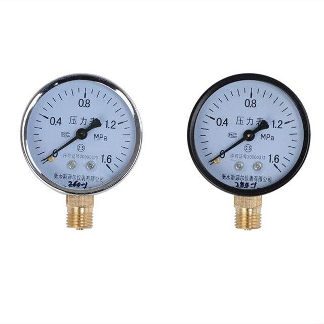 """Utility Vacuum Pressure Gauge Ordinary Barometer1/4"""" NPT Lower Mount -30HG/0PS Pressure Meter Gauge Manometers"""