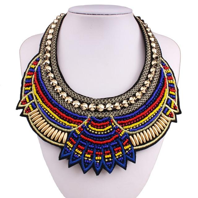 Ethnic Handmade Animalistic Soul Symbolic Necklace Indians Style