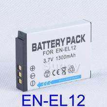 EN  EL12 ENEL12 Battery pack for Nikon Coolpix AW100s,AW110s,AW120s,P300,P310,P330,P340,S9500,S9600, S9700,S9700s Digital Camera