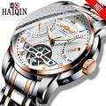 HAIQIN heren horloges Heren Horloges top brand luxe Automatische mechanische sport horloge mannen wirstwatch Tourbillon Reloj hombres 2018