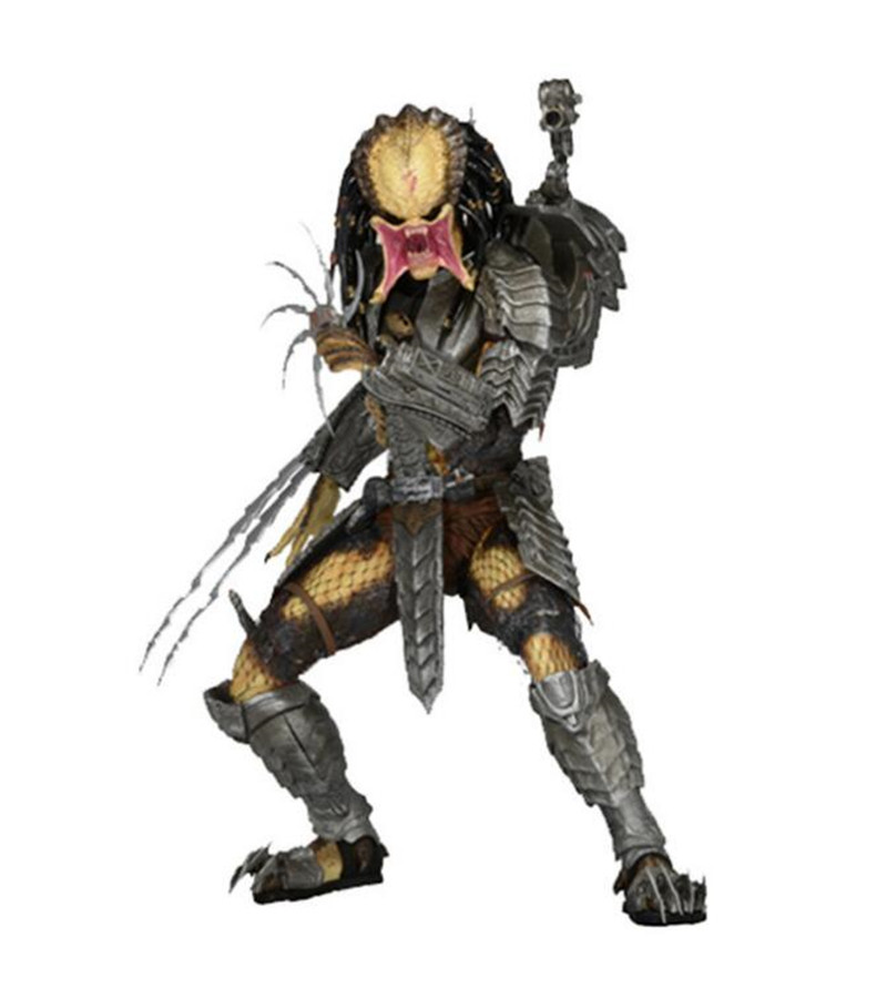 цены [Funny] 20cm Famous Movie The 14th wave NECA Alien vs. Predator Youngblood Predator PVC Action Figure Toys Collection Model gift