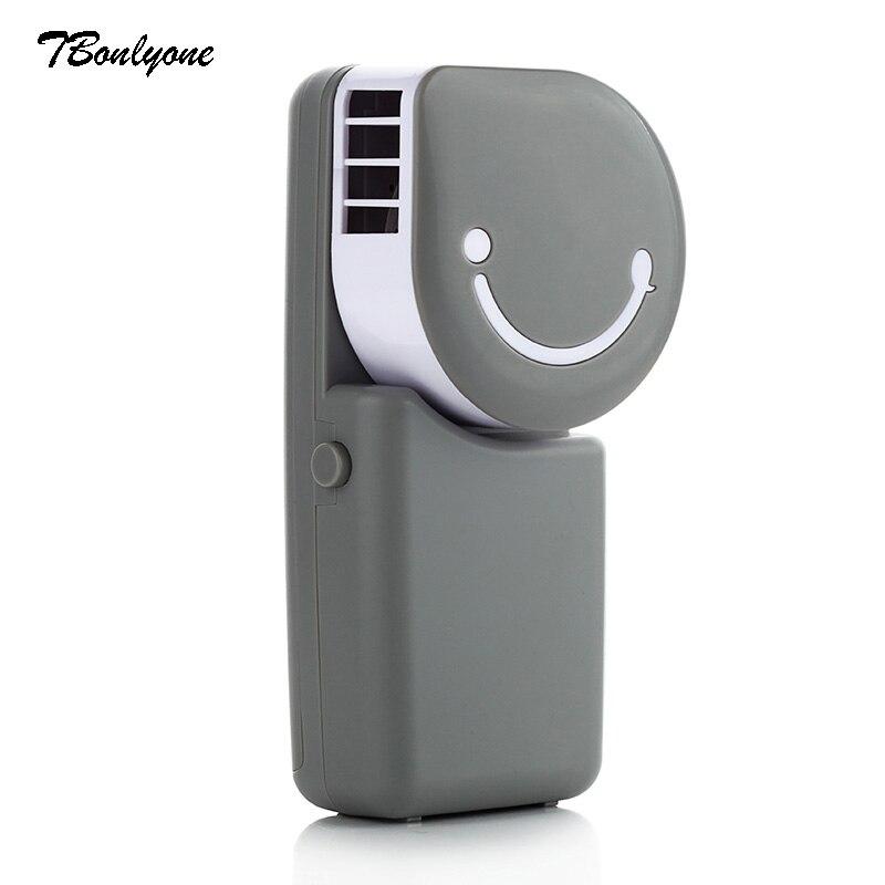 Tbonlyone 600 мАч Портативный вентилятор для лето на открытом воздухе путешествие электрический USB мини вентилятор Батарея Перезаряжаемые венти…
