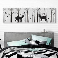 2019 new canvas painting forest animals elk decorative wall paintings pictures for living room bedroom art poster
