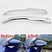 2 pz Chrome ABS Door Ala Specchietto Laterale Retrovisore Copertura Trim Sticker Fit per Honda Accord 2018 Auto Accessori Esterni Styling