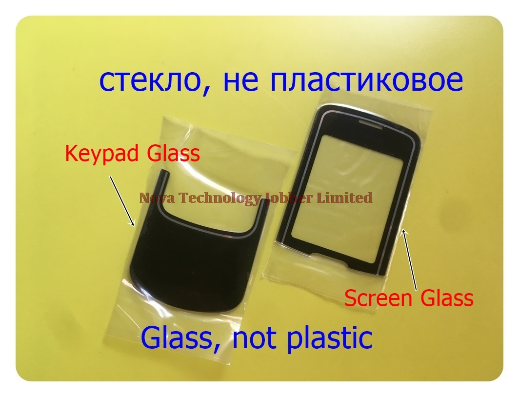 Wyieno N8600 Outer Glass Panel For Nokia 8600 Keypad Glass Lens Lcd Front Glass Screen With Tracking