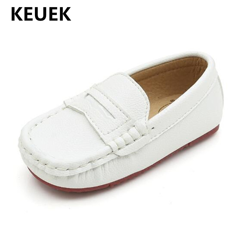 nova couro preto sapatos criancas sapatos de bebe sapatos casuais apartamentos respiravel estudante sapatos meninos da