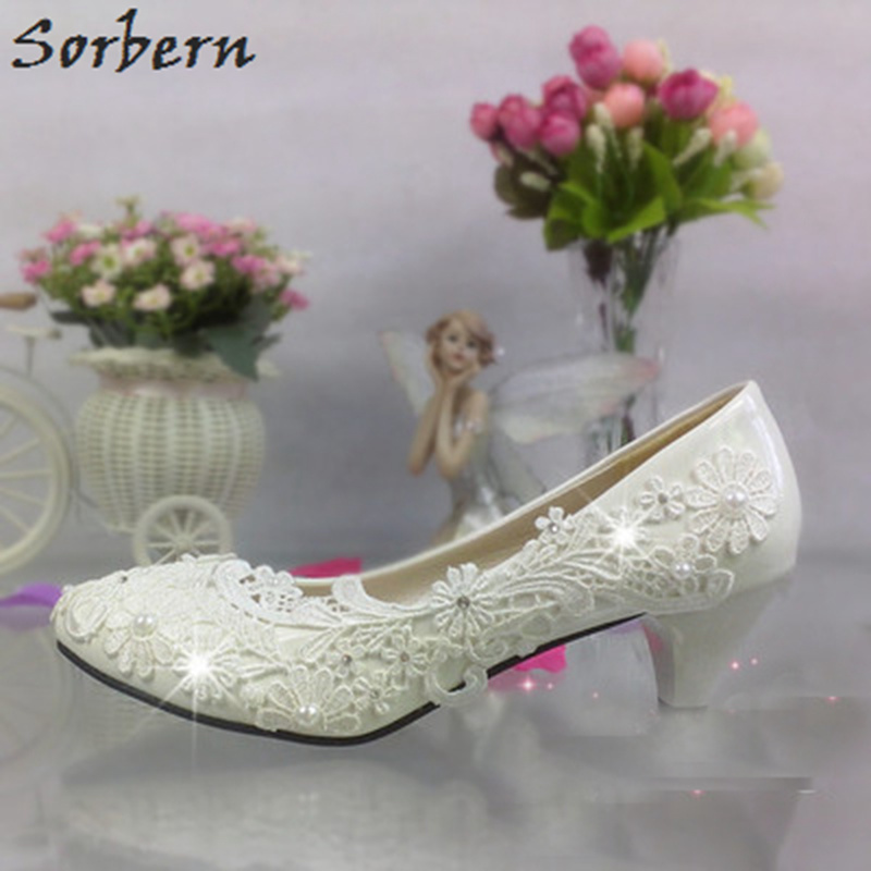 8cm Sorbern Cristaux Designer Mariée Mariage flat Haut Heel Femmes Pompes Chaussures De Plate Blanc Dentelle Wedges Glissent 3cm Heel Talon forme Sur Talons Heel 5cm ny8wvm0OPN