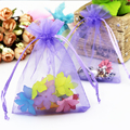 300pcs/lot New Arrival Organza Blue Wedding&Festival Gift Bags Pouches Fit Jewelry Findings Decoration&Packing 30*40cm