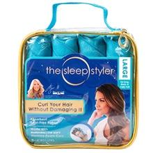 8 шт. много сон стайлер синий волос ролик магия ролик 2017 best Продавец хлопок бигуди DIY Инструменты для укладки