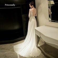 Vestidos de novia color ostion