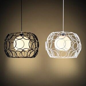 modern cage pendant light iron minimalist retro Scandinavian loft pyramid pendant lamp metal Hanging Lamp E27 Indoor DD01(China)