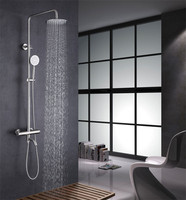 Manufacturers selling 304 stainless steel shower 304 thermostatic shower shower set