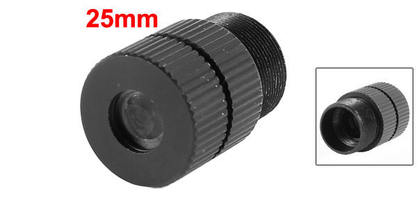 Replacement Black CCTV Box Camera 25mm Focal Length Board Lens F1.2
