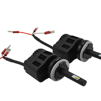 2PCS Car Styling LED Headlight P6 50W H15 6400LM 3000 4000 5000 6000K Driving Auto Front