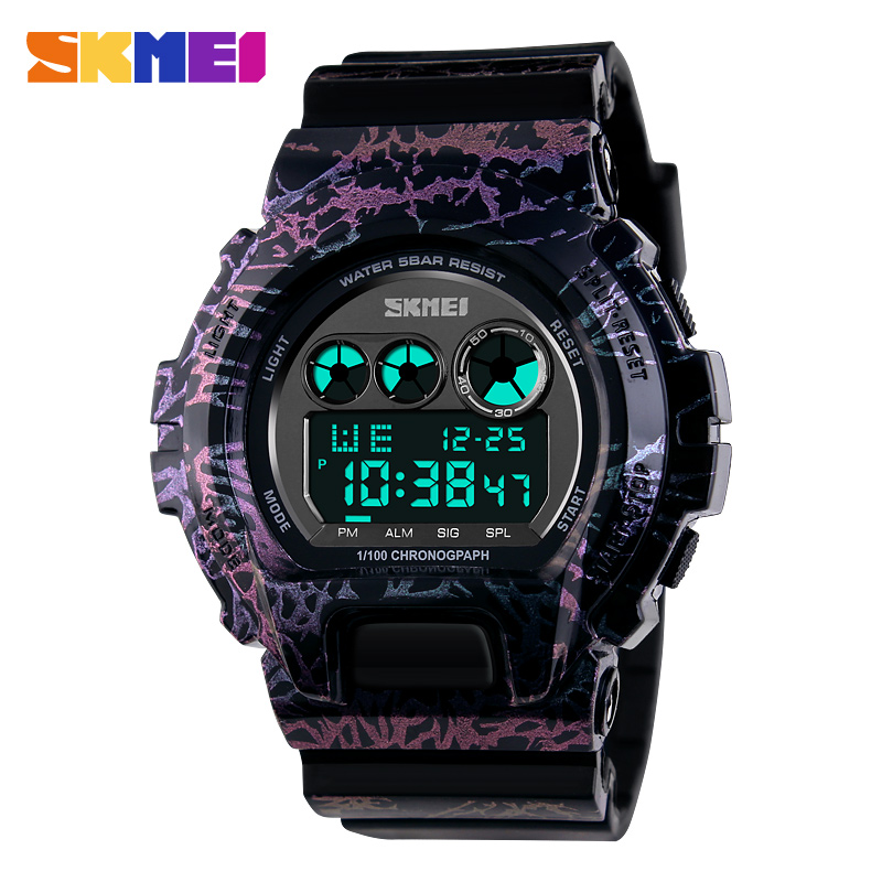 2016 New font b SKMEI b font Fashion Multifunction Waterproof Watch Reloj Led Digital Sports Watches