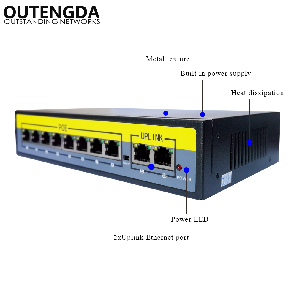 power adapter over ethernet poe ieee 8023af 05