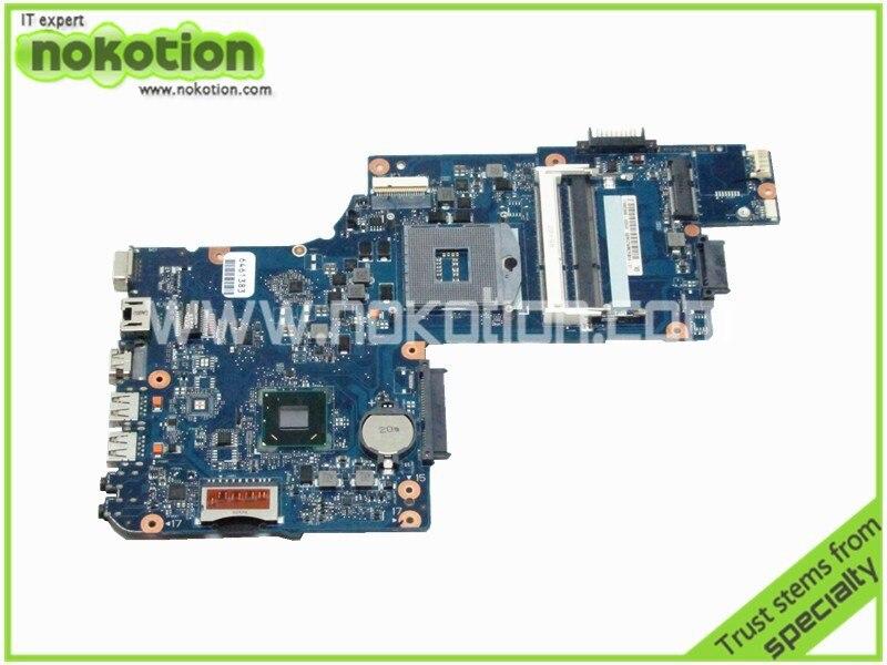все цены на  brand new H000038370 laptop motherboard for toshiba C850 L850 GMA HD4000 15.6 screen Mother Board DDR3  онлайн