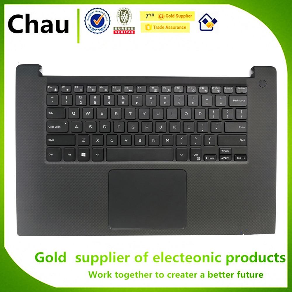 Dell XPS 15 9560 Palmrest Case Cover US Keyboard 0014HV 014HV