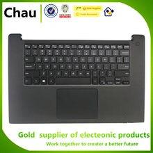 Novo Para Dell XPS 15 9560 Precisão 5520 M5520 Maiúsculas Palmrest Cobertura/EUA Teclado/Touchpad Y2F9N 0Y2F9N 086D7Y