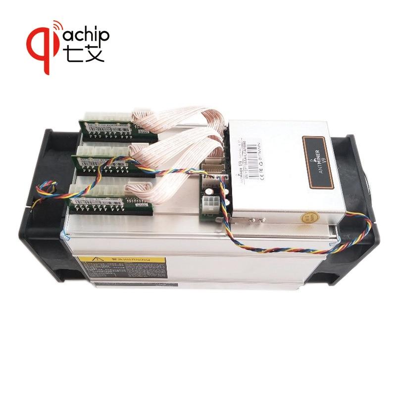 QiaChip Brand New AntMiner V9 4 t 4th/s Bitcoin Minatore Asic Minatore Btc Minatore Bitcoin meglio di S9 m3 E9