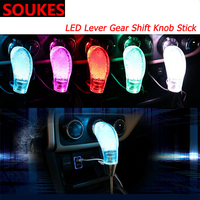 5 color For Volvo S60 V70 XC90 Subaru Forester Peugeot 307 206 308 407 Car Manual LED Lever Gear Shift Knob Cover