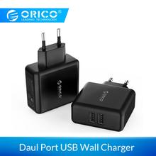 ORICO USB Portable Wall Charger Travel Charger Adapter With 2 Port 15W Max EU Plug for iPhone for iPhone Accessories for Xiaomi