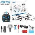H31 JJRC RC Drone Com Câmera À Prova D' Água 2.4G Mini Quadcopter Zangão 4CH 6 Eixos RC Helicóptero Multicopter RTF Toy HeadlessMode H37