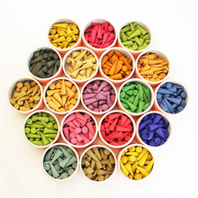 (About 40 Pcs/Box)Pagoda Incense Natural Incense Sticks Rose Tulip Scent Tower Sandalwood Spice Tray Household Perfume Set V3577