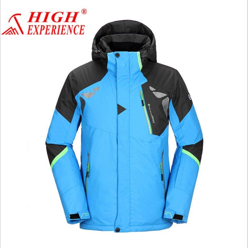 Prix pour Mens Vestes de Ski 2017 Ski Veste Hommes Snowboard Hiver Montagne Ski Vêtements D'hiver Manteau de Neige Étanche Camping En Plein Air Marque