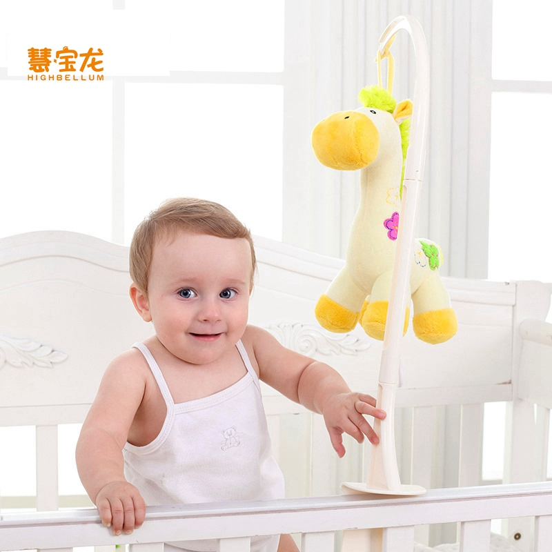 HB Baby 4 Styles Plush High Quality Music & Mobiles Newborn Infant Toy Rattle Stroller Toy Infant Gifts Plush Educational Toy