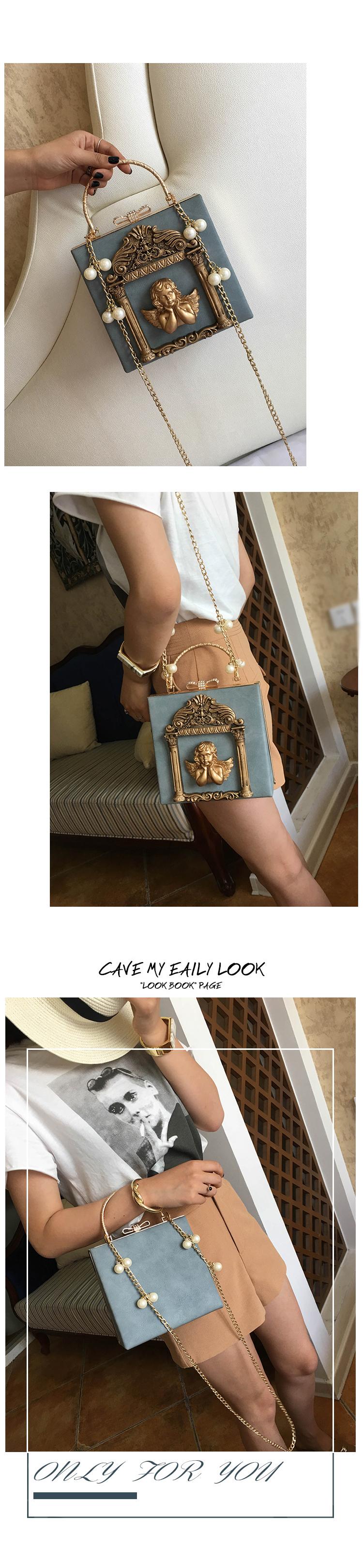2018 NEW Rose 3D Palace Sculpture Frame Bag Luxury Handbags Women Party Bags Designer Lady Cute Shoulder Messenger Bag Sac Tote 23