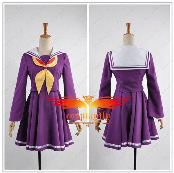 Hot Sale No Game No Life Shiro Skirt Cosplay Costume Cosplay Costume