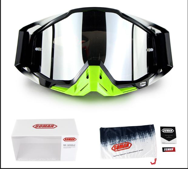YTGOOD Motocross Goggles ATV Casque Motorcycle Glasses Racing Moto Bike Cycling CS Gafas Sunglasses All red red
