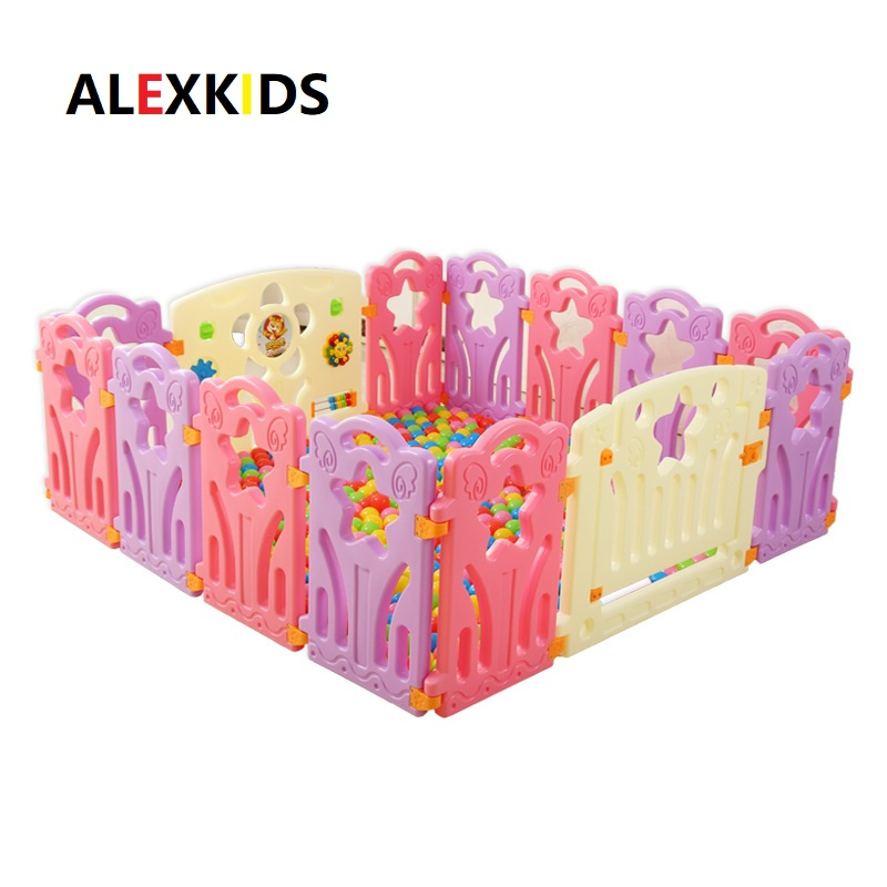 Baby Playpens Indoor Kids Game Fence <font><b>Children</b></font> Play Fence Kids Activity Gear Environmental Protection EP Safety Play Yard image