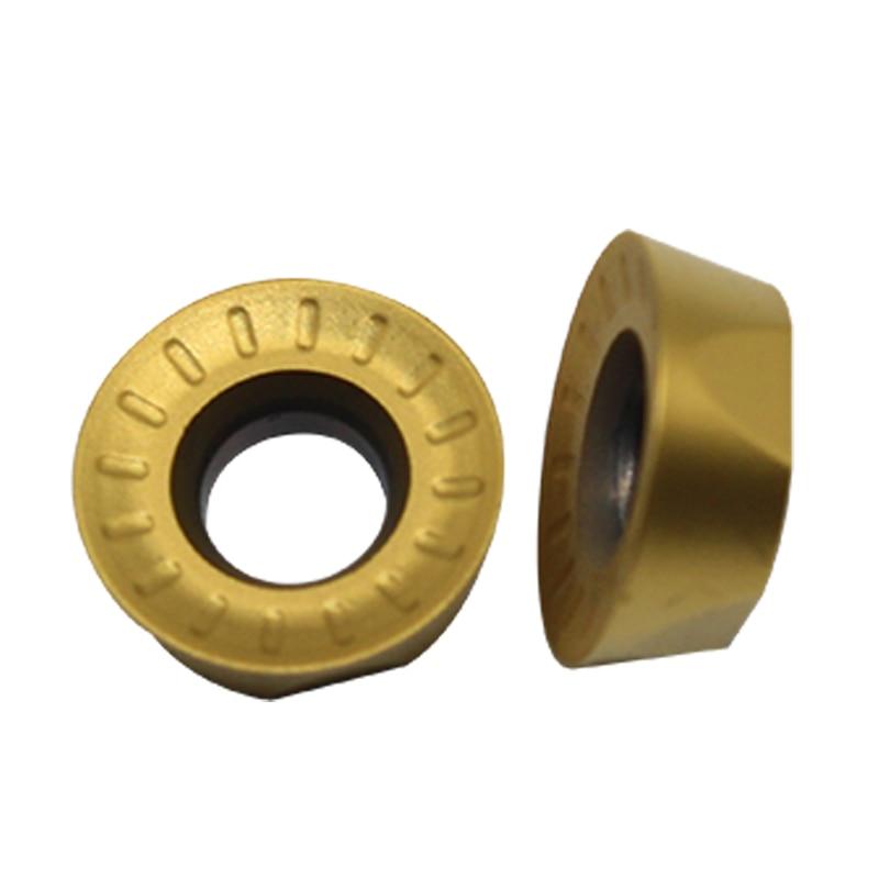 10Pcs RPMT1204MOE-JS VP15TF RPMT1204M0  Insert Carbide Insert Milling Cutter