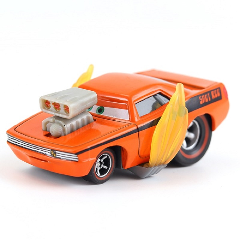 Cars Disney Pixar Cars Snot Rod & DJ & Boost & Wingo Metal