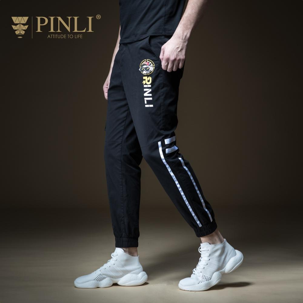 2018 pantalons Skinny hommes vrais pantalons crayon tactique Pepe Pinli été chaud nouveau hommes décoré corps imprimé pantalons de loisirs B192217306