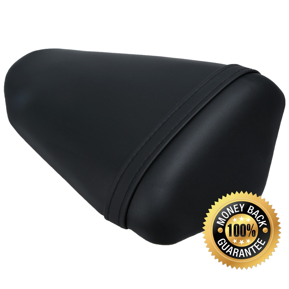 For KAWASAKI NINJA ZX10R 2008-2010 2009 08 09 10 Motorcycle Synthetic Leather Passenger Rear Back Seat Cover Cushion Pillion