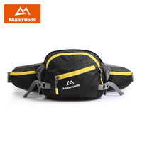 Maleroads Travel Fanny Pack Large Capacity Waist Pack Multiple Pocket Outdoor Camping Hiking Cycling Waist Bag for Men Women