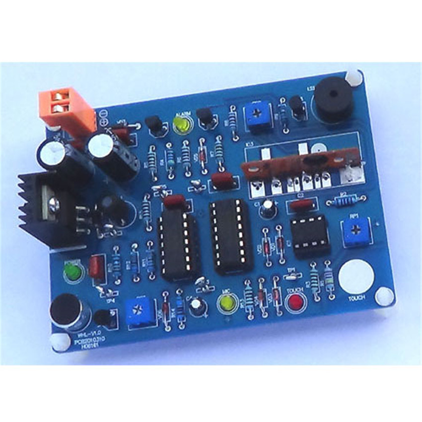 Electronic Assembly Tools : Diy touch voice activated alarm electronic assembly kit