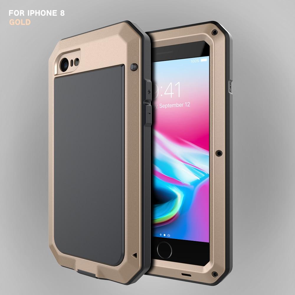 HTB1CA9deKuSBuNjSsplq6ze8pXaq Heavy Duty Protection Doom armor Metal Aluminum phone Case for iPhone 11 Pro Max XR XS MAX 6 6S 7 8 Plus X 5S 5 Shockproof Cover