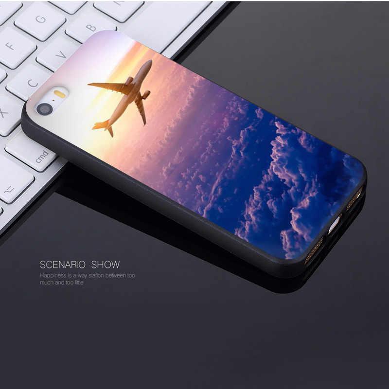 Авиационный самолет MaiYaCa, чехол для Apple iPhone 8 7 6 Plus X XS XR XSMax 5 5S SE