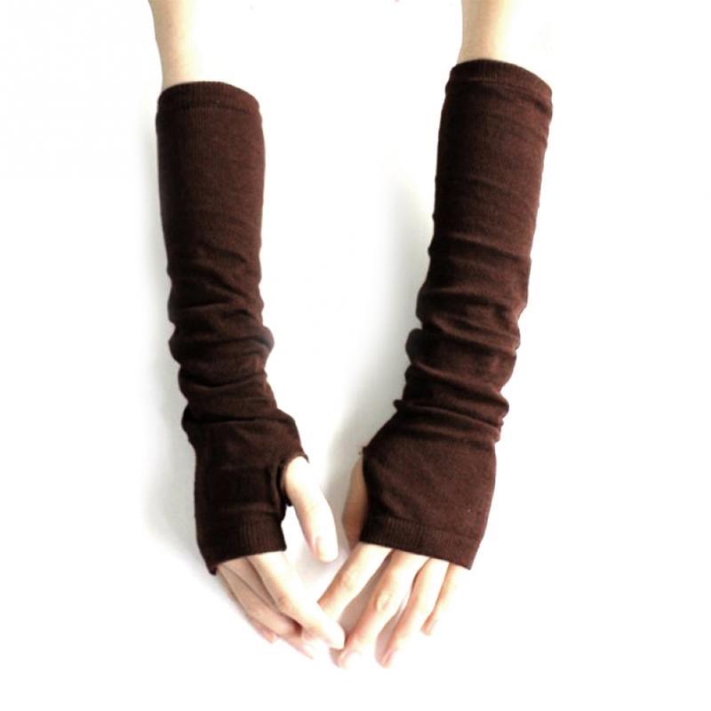 웃 유2018 nueva moda Unisex Otoño Invierno mano brazo guantes ...