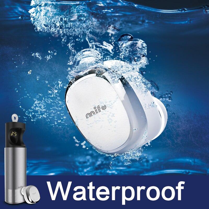 New mifo U0 wireless Bluetooth headset mini stealth 4.1 earphone mobile music headset IPX7 waterproof car Bluetooth headset new m beans shape 4 0 bluetooth headset mini touch stealth