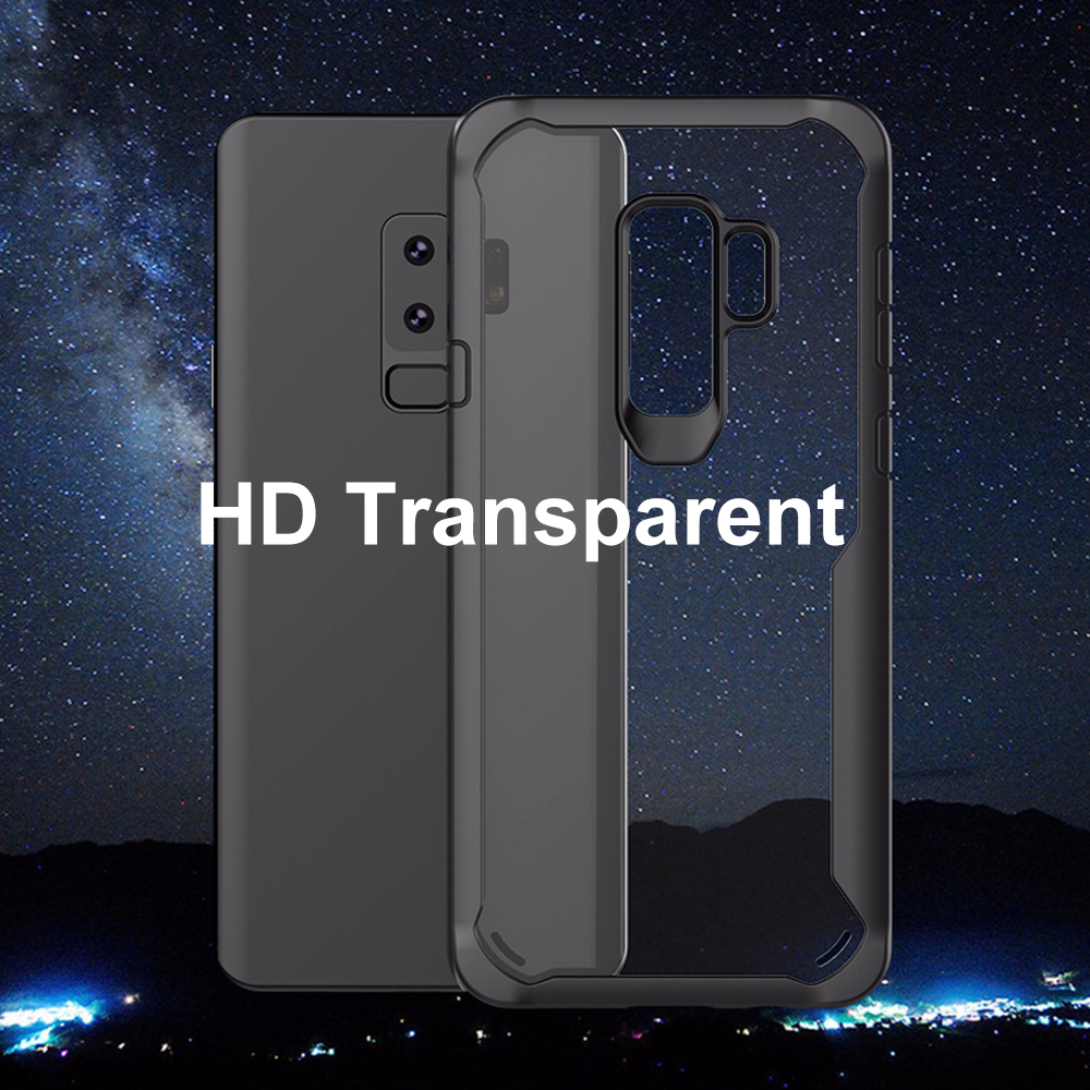 Image 5 - Heyytle Shockproof Case For Samsung Galaxy S9 S8 S10 Plus Note 8 9 Transparent Cover For Samsung A5 A6 A7 A8 2018 Armor Coque-in Fitted Cases from Cellphones & Telecommunications