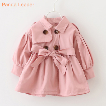 Baby Jacket Casaco Infantil Girl Baby Coat 2021 Spring Baby Jas Trench Double Breast Windbreaker for Girl Kids Jacket For 1-4T 2