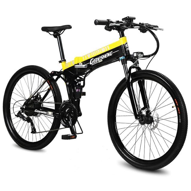 26 Inch Ebike Electric Mountain Bicycle Fold Electric Bike 48v Li