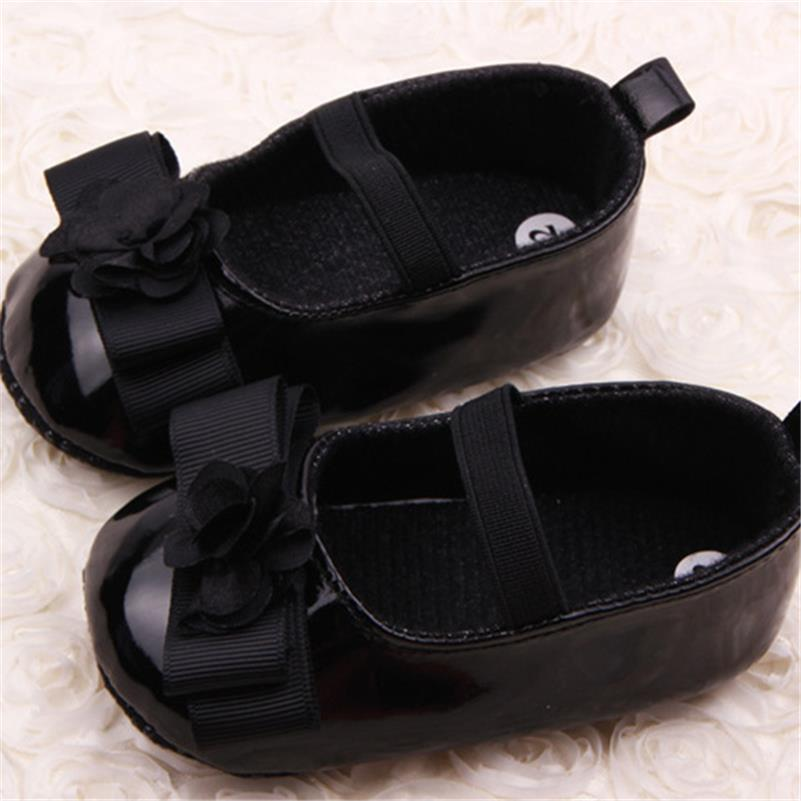 Newborn Baby Girl Shoes First Walkers Lovely Sneakers Infant Kids Girls Princess Shoes 3-15M