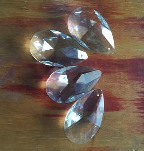 Image 3 - 324 PCS/LOT 50mm larme cristal Penant pour lustre prisme pièces livraison gratuite