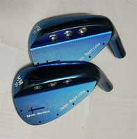 2018 Playwell Jean Baptiste MW51 MW57 Blue Color Forged Carbon Steel Golf Wedge Head